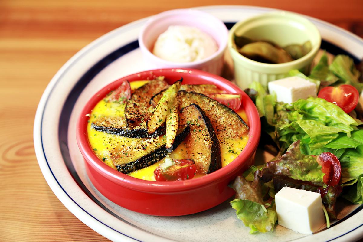 Pumpkin Doria Lunch Plate